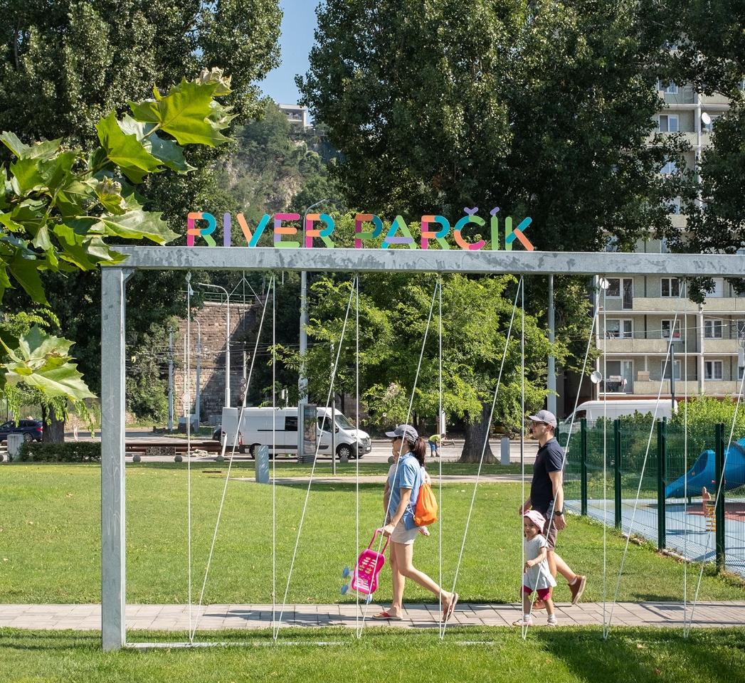 River mini-park (Parčík) kids' playground